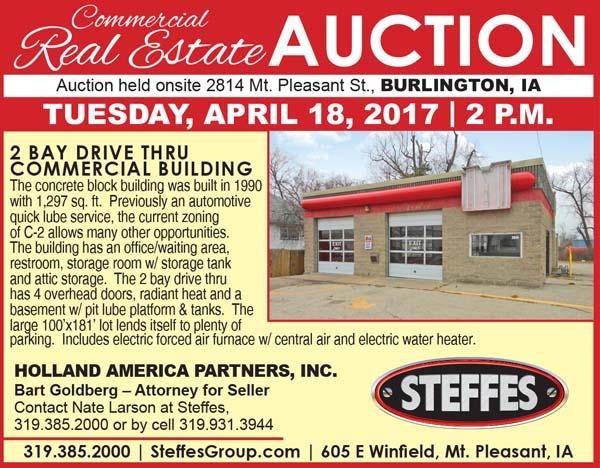 Auction List - Steffes Group Inc, Commercial Real Estate